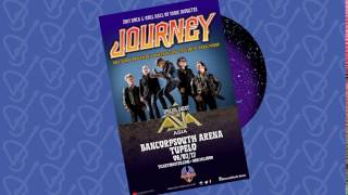 Journey @ BancorpSouth Arena, June 2017