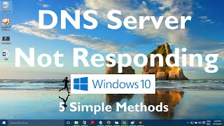 Fix the DNS Server not Responding error in Windows 10 By these 5 methods 1: Right clickon Windows Start Button I Command Prompt (Admin) run these commands an...