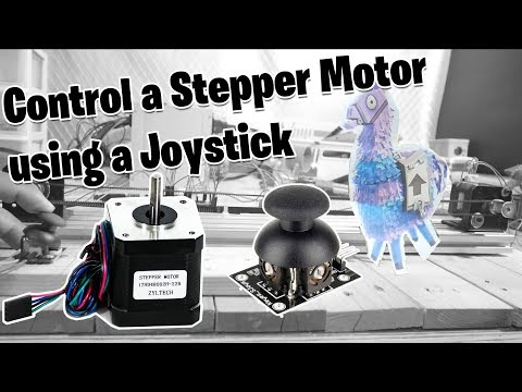 How to control Stepper Motor using a Joystick ( Easy Driver ) - Maker Tutor - Video - winxclubgames mp3