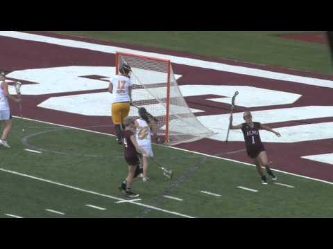 Alma College Women's Lacrosse vs. Siena Heights University - April 15, 2012