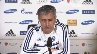 Manager's Press Conference: Stoke