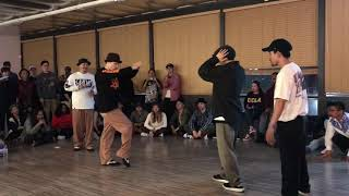 Kite & Ryuzy vs Jenes & Bummei – IFS 2017 2 vs 2 Popping