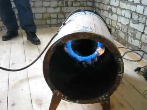 Как сделать газовую пушку своими руками видео