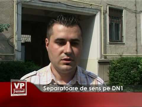 Separatoare de sens pe DN1
