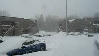 Cedar Falls (IA) United States  city pictures gallery : Cedar Falls Iowa USA Crazy Snow.AVI