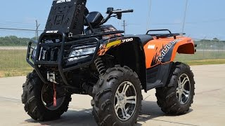 8. $8,499:  For Sale Pre Owned 2012 MudPro 700 LTD with Radiator Relocation
