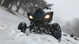 7. First Winter rip this year on the Raptor 700!