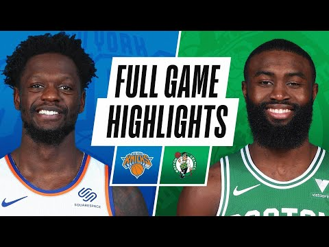 Boston Celtics vs New York Knicks | January 17, 2021