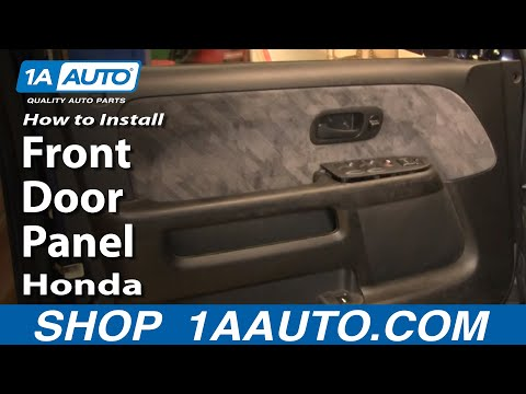 How To Install Replace Front Door Panel Honda CR-V 02-06 1AAuto.com