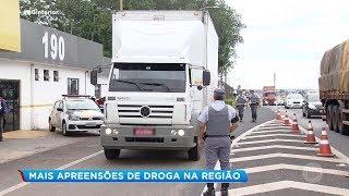 Aumenta o número de apreensões de drogas nas estradas da região de Bauru