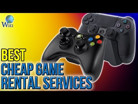 3 Best Cheap Game Rental Services 2017