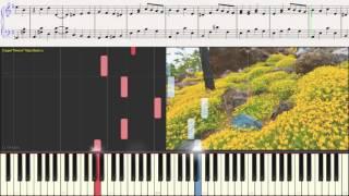 Полька - Соколовский (Ноты для фортепиано) (piano cover)