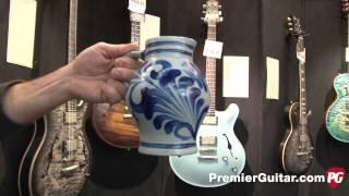 Musikmesse '14 - Nik Huber Guitars Custom Hesse Krautster Demo