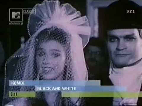 Kombi - Black and White
