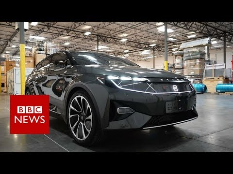 CES 2018: First look at futuristic Byton smart car - BBC News