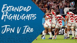 Extended Highlights: Japan v Ireland – Rugby World Cup 2019