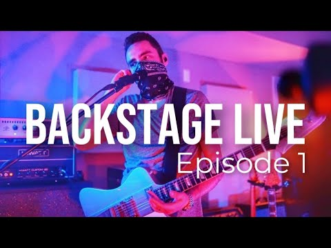 Our First Live Show Ever   Backstage Live Episode One