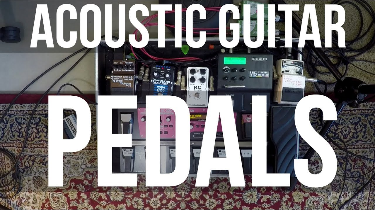 Acoustic Guitar Pedals for Live Gigs – Carl Wockner Equipment (tutorial 2 of 2)
