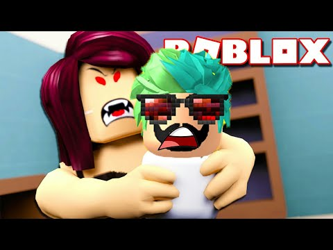 Katİl Bebek Bakicisindan KaÇiŞ | Roblox Escape The Evil Babysitter Obby