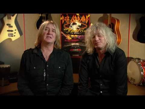 DefLep's Joe Elliott & Rick Savage Holiday Greeting