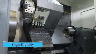 Cnc Turning Lathe Mill Combo Tck Series Slant Bed Cnc Lathe youtube video