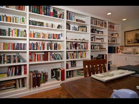 Ideas For Floor To Ceiling Bookshelves