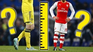 The Tallest and Shortest Footballers In The Premier League