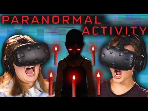 PARANORMAL ACTIVITY | VR HORROR GAME! (Teens React: Gaming)