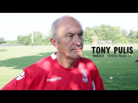 Video: Crystal Palace Manager Tony Pulis
