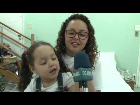 Família lança campanha para criança andar