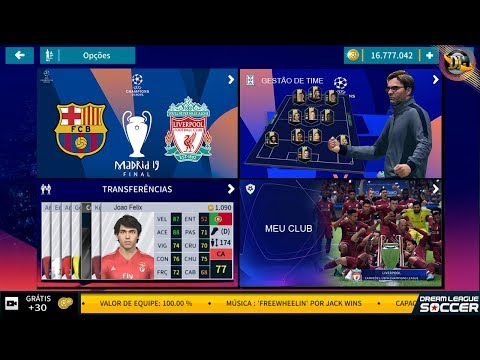 NOVO DREAM LEAGUE SOCCER UEFA CHAMPIONS LEAGUE 2019