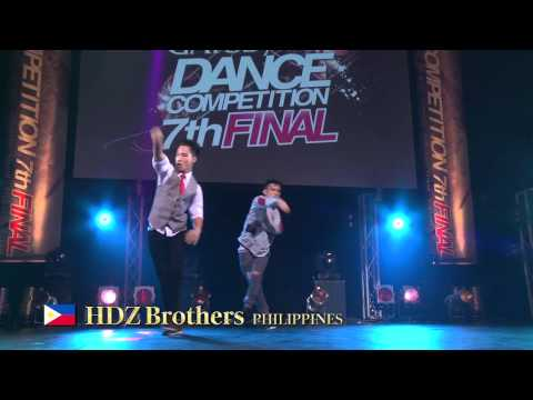 【GDC 7th】GATSBY DANCE COMPETITION 2014-2015:ASIA GRANDFINAL/HDZ Brothers【PHILIPPINES】