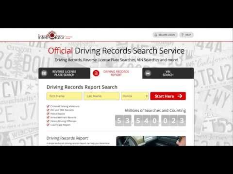 how to obtain official driving record florida