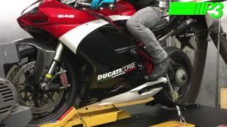 4. Ducati 848 Evo dyno power run P3 Tuning Liverpool