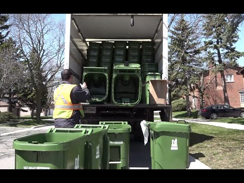 New Green Bin deliveries and locations