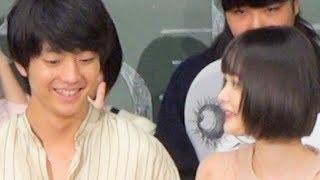 伊藤健太郎、玉城ティナ/映画『惡の華』公開直前イベント