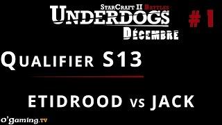 Qualifier UnderDogs de décembre