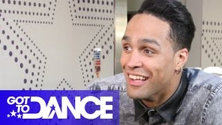 "Ashley Banjo Interview: ""The Pressure's On"" 