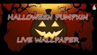 Halloween Pumpkin Live WP YouTube video