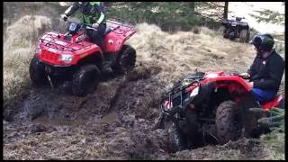 8. Arctic Cat 500 EFI test ride