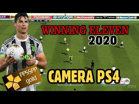 DWNLOAD WINNING ELEVEN 2020 PPSSPP CAMERA PS4 BEST GRAPHICS FULL HD & FULL TRANSFER 2020