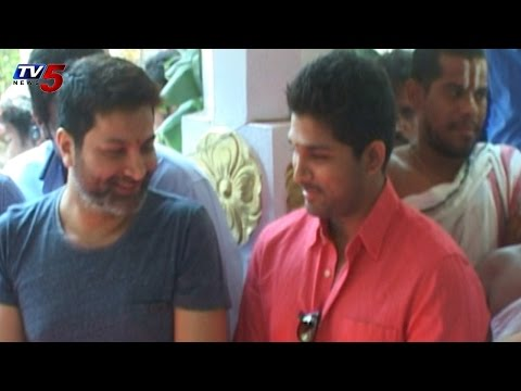 Trivikram,Allu Arjun Movie Opening Ceremony : TV5 News