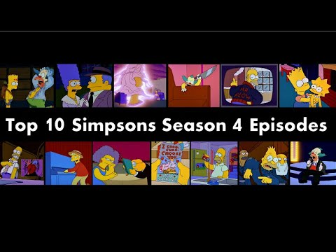 Top 10 Simpsons Season 4 Episodes