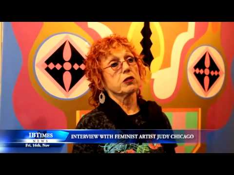 Interview with feminist artist Judy Chicago