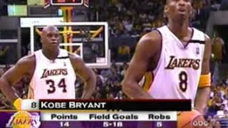 Shaquille O'Neal & Kobe Bryant Full Highlights vs Minnesota Timberwolves 2003 WCR1 GM4