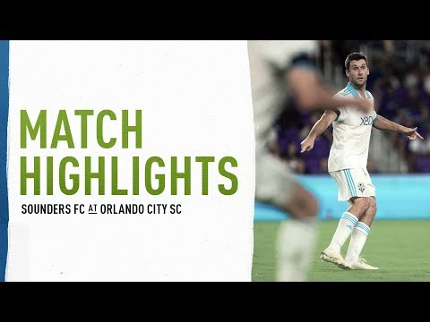 Video: HIGHLIGHTS: Seattle Sounders FC at Orlando City SC | October 17, 2018