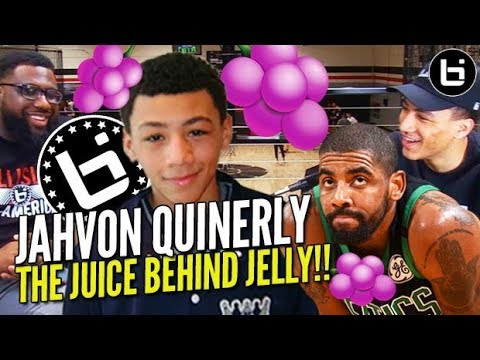Jahvon Quinerly: Business Behind JELLY FAM!! LEBRON JELLY + Kyrie Irving Connection & More!!