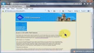 Urdu Tutorials CSS Lesson 8
