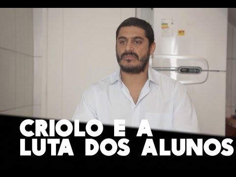 Criolo defende a luta dos estudantes