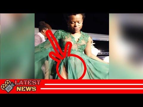 Zodwa Wabantu's exposes punani at Feather Awards